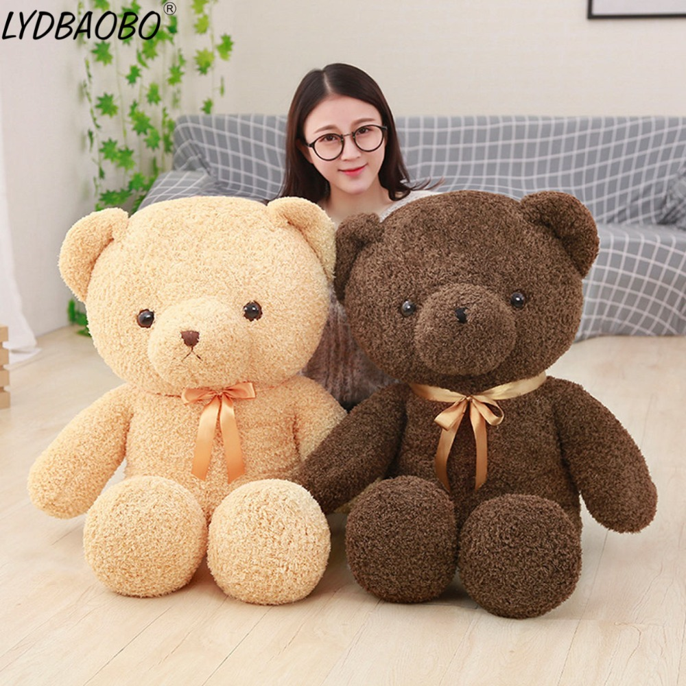 Cartoon America Teddy Bear Plush Toys Stuffed Animals Fluffy Bear Dolls Soft Kids Toy Baby Girl Birthday Christmas Gift 5070cm