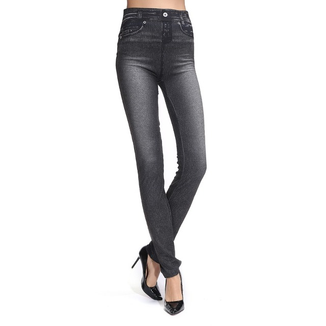 Women's Jeans Simulated Leggings