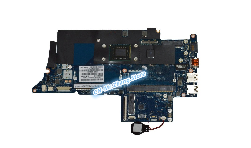 SHELI FOR HP ENVY 4-1000 Laptop Motherboard W/ I5-2467M CPU 686089-001 LA-8662P DDR3SHELI FOR HP ENVY 4-1000 Laptop Motherboard W/ I5-2467M CPU 686089-001 LA-8662P DDR3