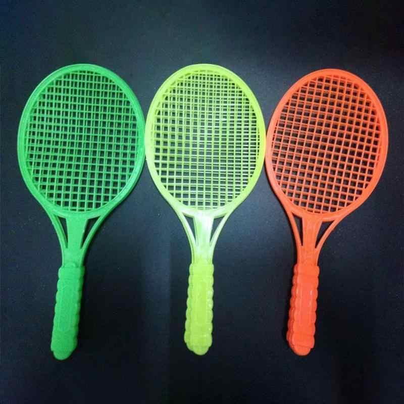 1 คู่ใหม่เด็กกีฬากลางแจ้งแบดมินตันเทนนิสชุดเด็กกีฬาการศึกษาเกมกลางแจ้งของเล่น