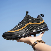 Autumn Full palm air cushion shoes male Sneakers Korean version trend casual running travel shoes