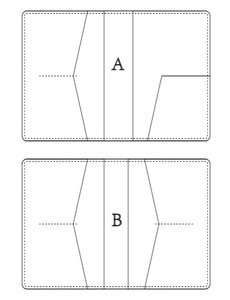 Image 4 - Japonia ostrze ze stali drewno umiera dla majsterkowiczów skóra craft okładka na paszport die cutting forma do wycinania szablon wytłaczany ręcznie narzędzie 210x140mm