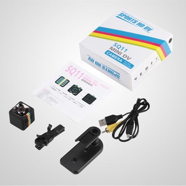 SQ11 HD mini Camera small cam 1080P Sensor Night Vision Camcorder Micro video Camera DVR DV Motion Recorder Camcorder SQ 11 SQ9 5