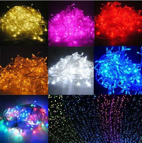 Luminarias 10M 100 SMDs LED Christmas Lights Wedding Party Garden Decoracao Fairy Light EU/UK/US/AU Plug