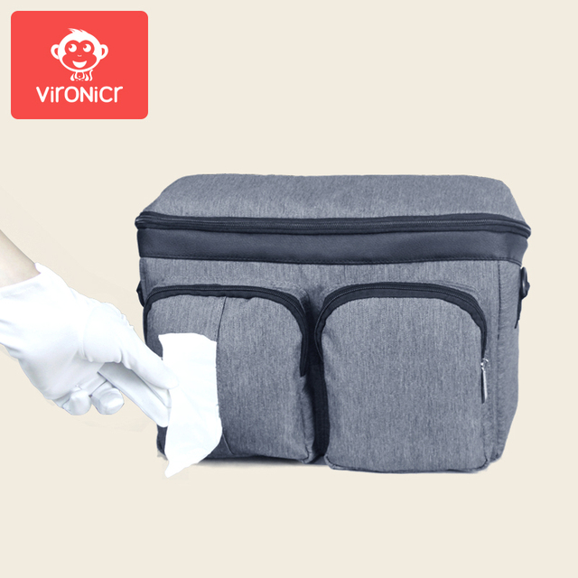Stroller Accessories Diaper Bags Baby Stuff Nappy Stroller Organizer Mom Travel Hanging Carriage Pram Buggy Cart Bottle Bag