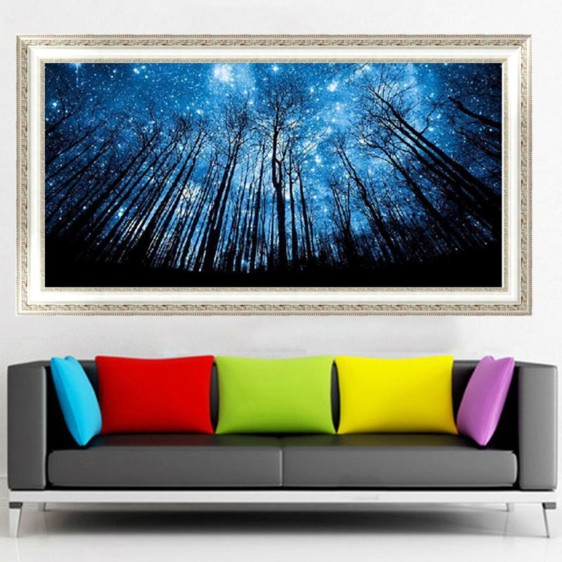 Blxecky 5d Diy Diamond Painting By Number Kitsnight Sky - 800×800