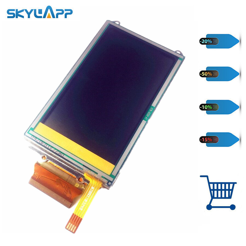 Skylarpu 3 inch LCD screen for GARMIN OREGON 550 550t GPS LCD display Screen with Touch screen digitizer Repair Free shipping