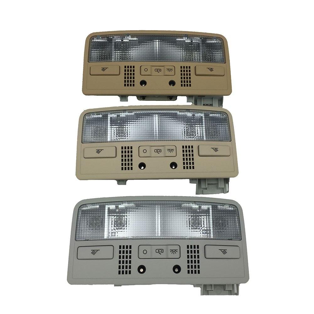 Passat B5 Skoda Octavia Combi için İç Dome okuma açık Gri Açık Bej 3BD 947 105 2EN H67 7R3