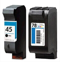 2piece Lot For Ink Cartridge For HP 45 51645A For HP 78 C6578D For HP