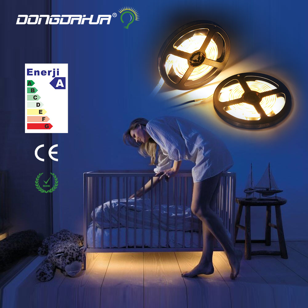 light strip of leds 12 v leds smd 2835 diodes tape individual colors of high quality led strip lights flexible free sales of new sensor light strip with high quality and convenient multi functional 3w 6w outdoor home decor led strip light lamps