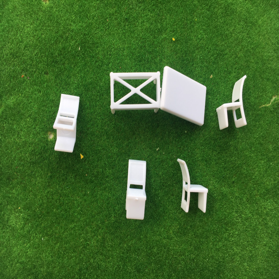 Home Appliance Parts 10pcs 1:100 Street Seats Bench Chair Model Train Platform Layout Settee Ho Scale To Enjoy High Reputation In The International Market