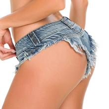 Sexy Vintage Mini Short Jeans Booty Shorts Cute Bikini Denim Ripped Club Party Bottom Candy Colors