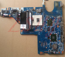 for HP G42 G42T laptop motherboard 631596-001 HM55 HD 6370M Free Shipping 100% test ok(China)