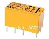 10pcs DC 12V PCB 4078 Power Relay HRS2H-S-DC 8PIN sla 12vdc sl c dc 12v coil spdt 6 pin pcb general purpose power relay