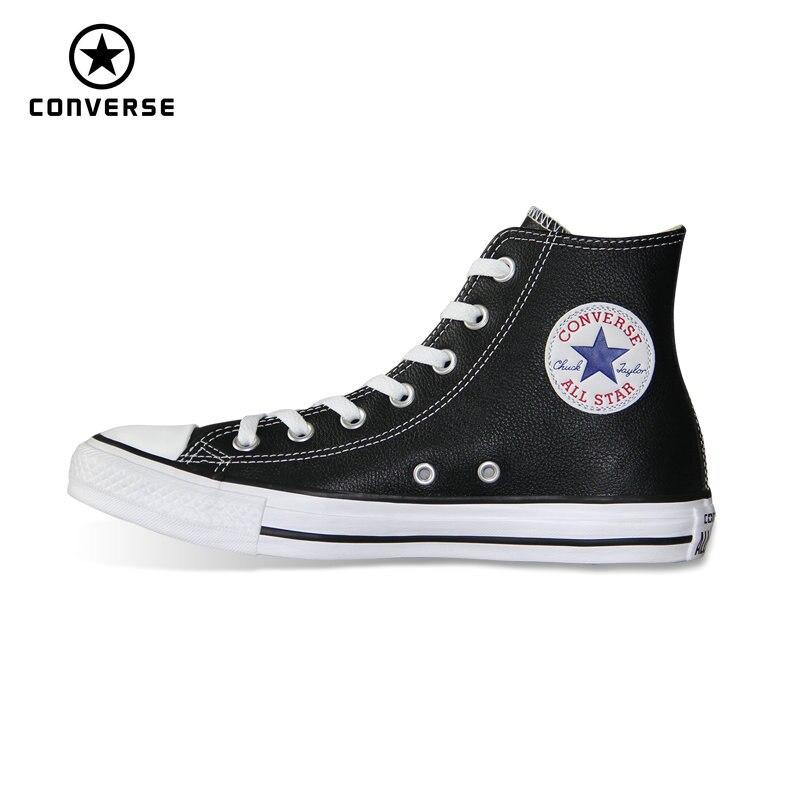 Высокая Стиль Зажимы Taylor из искусственной кожи оригинальные Converse all star для мужчин женщин унисекс Спортивная обувь низкая обувь для скейтбор...