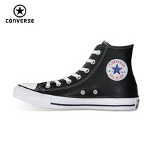 3db6dd28baac01 high style Chuck Taylor pu leather original Converse all star men women  unisex sneakers low Skateboarding