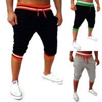 Mens Harem Capri Baggy Bermuda Masculina Mma Shorts Cotton Blends Fitness Sweat Pants Male Bodybuilding Jogger