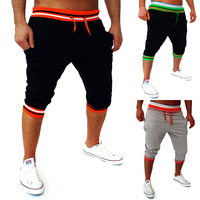 Mens Harem Capri Baggy Bermuda Masculina Mma Shorts Cotton Blends Fitness Sweat Pants Male Bodybuilding Jogger