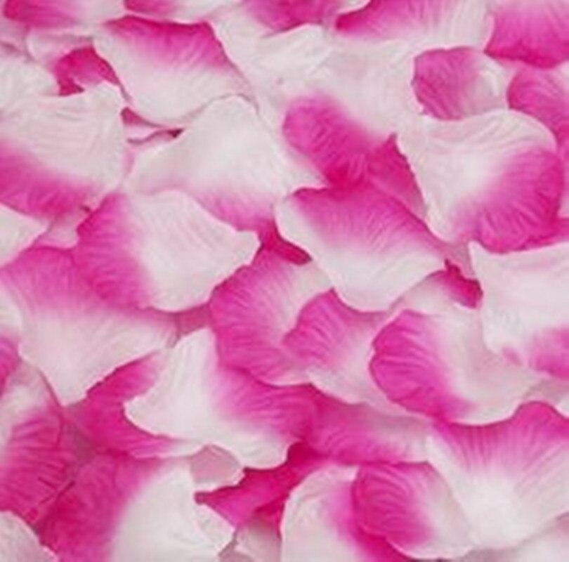 Home & Garden Aspiring Top Quality 1000pcs Silk Rose Flower Petals Leaves Wedding Decorations Party Festival Table Confetti Decor