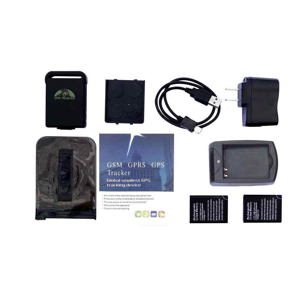TK102B samochód GSM lokalizator gps śledzenie w czasie rzeczywistym obsługa karty TF SMS mapa pozycja APP Online lokalizator gps zestaw r30