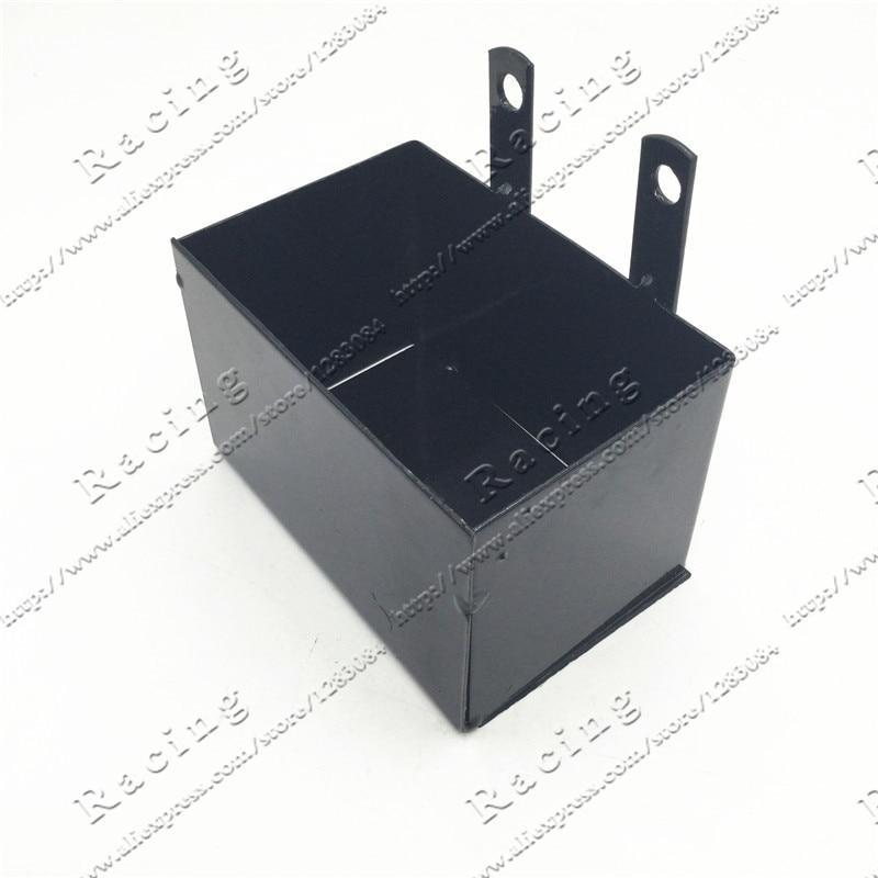 CRF50 Frame battery font b box b font dirt pit bike Case holder off road motorcycle