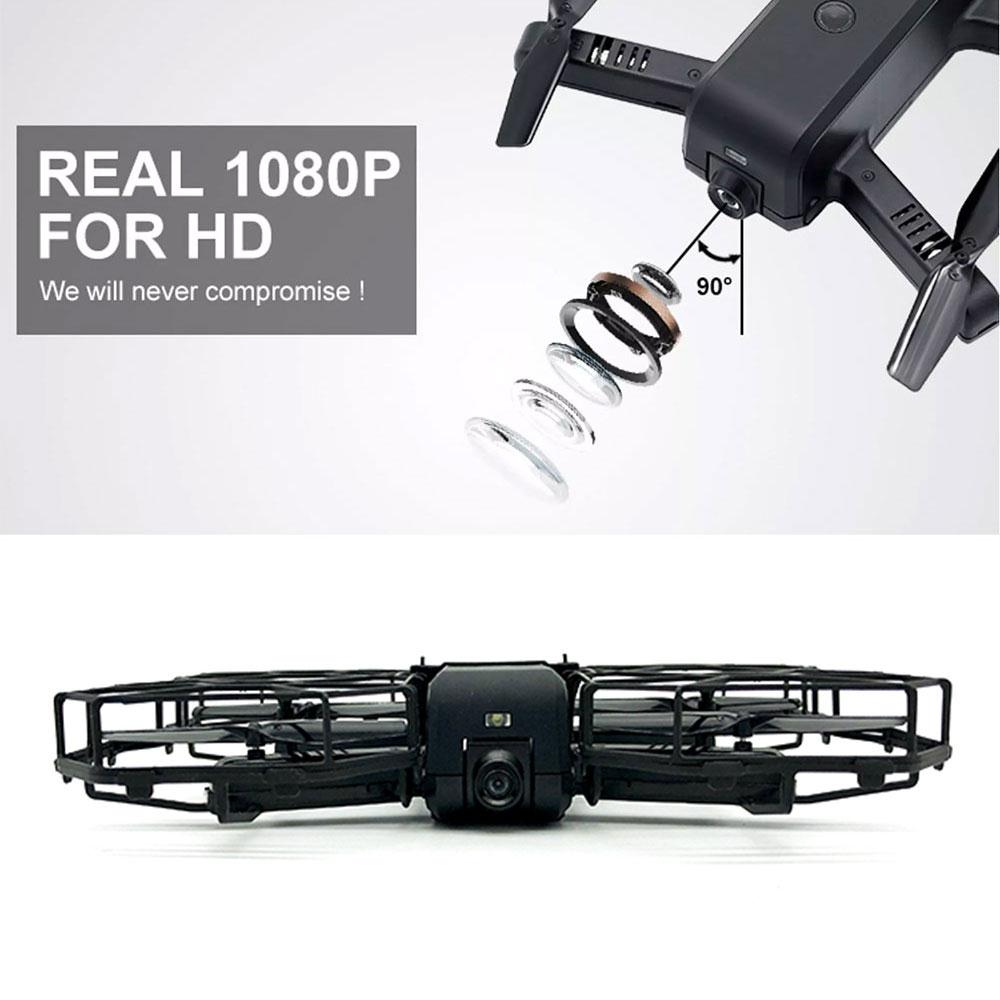 Aircraft 360degree Rolling Full Protection Drone Intelligent Flying Quadcopter LED Lighting intelligent sensor aircraft toy