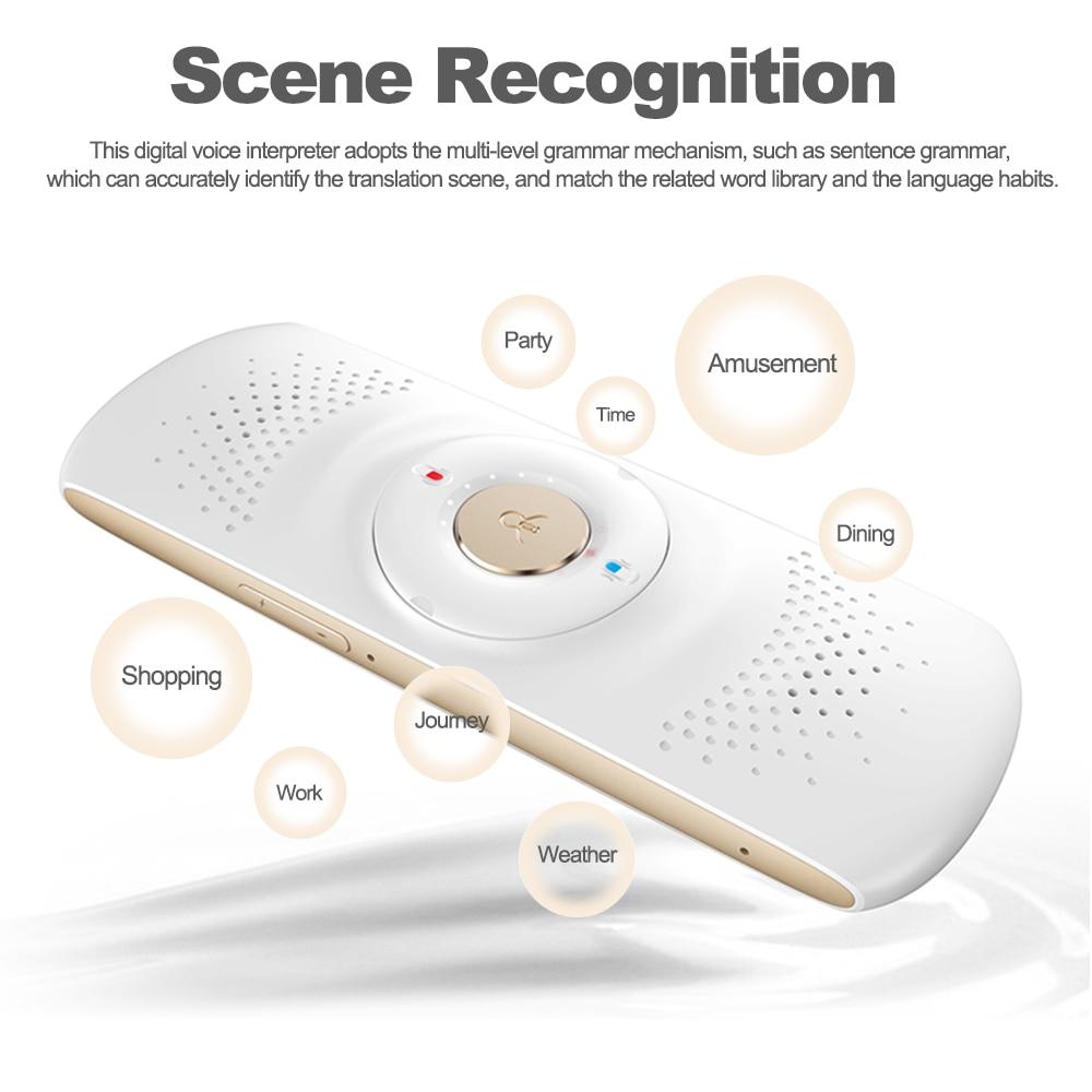 Easy Trans 600 Digital Voice Interpreter Bluetooth 4.1 Smart ...