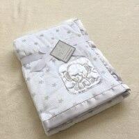Baby Blanket Newborn Baby Swaddle Wrap Thermal Soft Fleece Winter Baby Bedding Receiving Blanket Manta Bebes