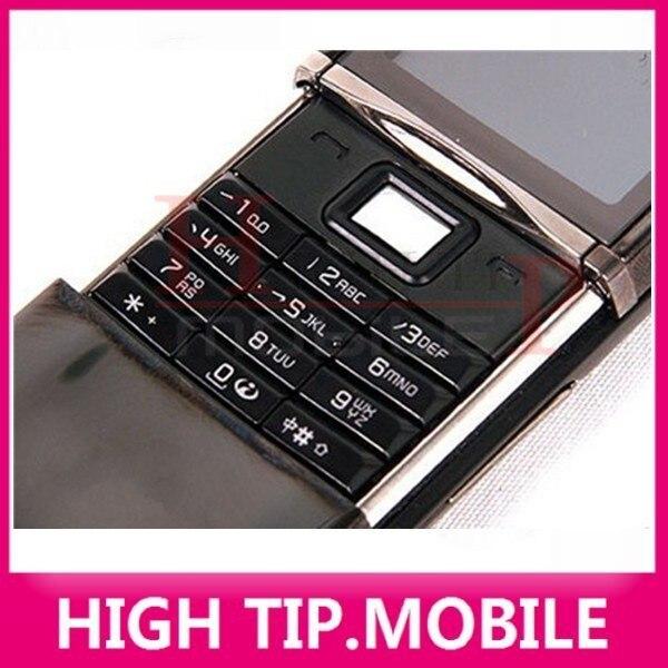 100% מקוריים Nokia 8800s 8800 חמסין מקלדת רוסית טלפון סלולארי לא נעול 128MB זיכרון פנימי סינגפור פוסט מחודשים