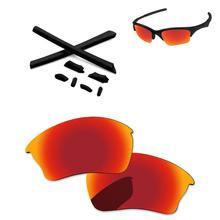 6c6b801486 PapaViva polarizadas lentes y caucho negro Kits para auténtica media  chaqueta XLJ gafas de sol-múltiples opciones de