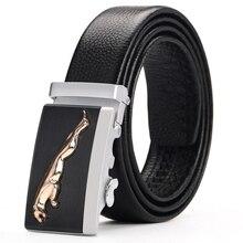 [Veroseice] heißer Verkauf Luxus automatische buckle cow leder männer gürtel gute qualität marke echtes leder gürtel für männer cinto ceinture