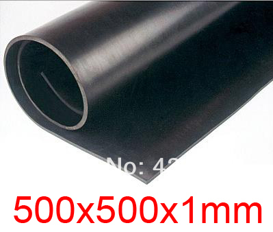 1mm thickness Fluorine Viton rubber sheet Acid and alkali resistant FKM rubber plate 500x500x1mm fluororubber sheet