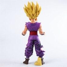 25 cm Anime Dragon Ball Z Super Saiyan Son Gohan figuras de acción maestro estrellas pieza Dragonball estatuilla coleccionable modelo de juguete