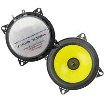 Автомобильный Динамик пара 4 дюймов Автомобильный аудио Динамик полный спектр стерео Системы автомобильная стереосистемаС обтекаемым внешним видом