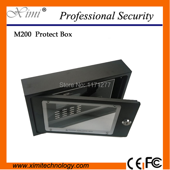 Здесь продается  Free shipping new arival M200/M300 RFID card time attendance  waterproof safety protect box protect cover  Безопасность и защита