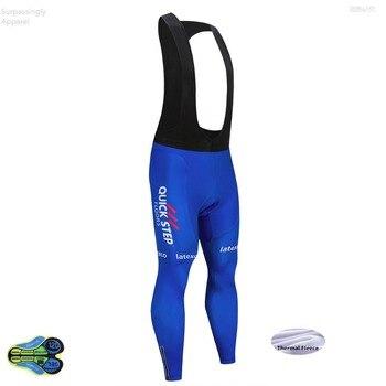 Pantalones largos de Ciclismo para hombre, mallas con almohadilla de Gel 12D,...