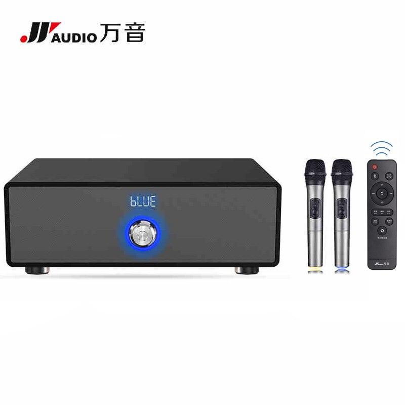 JY аудио 200 К Портативный <font><b>Bluetooth</b></font> звука громкоговорителя Системы музыке стерео объемного <font><b>Bluetooth</b></font> ТВ smart говорить Усилители домашние с микрофоном