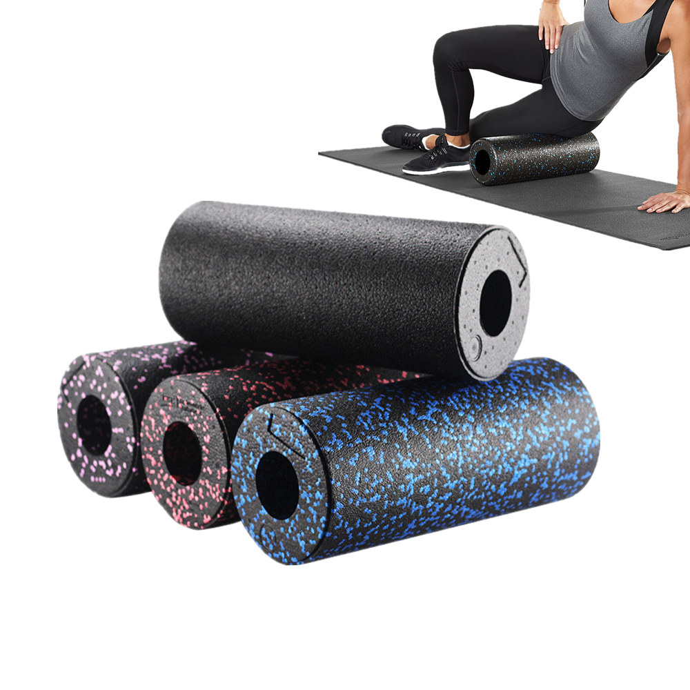 Yoga & Muscle Massage Foam Roller Camouflage Pattern Hollow High-Density Round Stovepipe R
