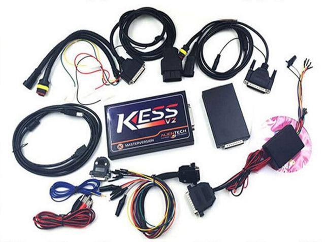 KESS V2 OBD2 Tuning Kit HW V4.036 Master Version V2.15 No Tokens Limited Add OBD Function KESS ECU Chip Tuning OBD2 Manager