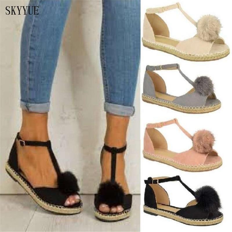 2018 zapatos mujeres sandalias mujeres zapatos de verano zapatos - Zapatos de mujer - foto 1