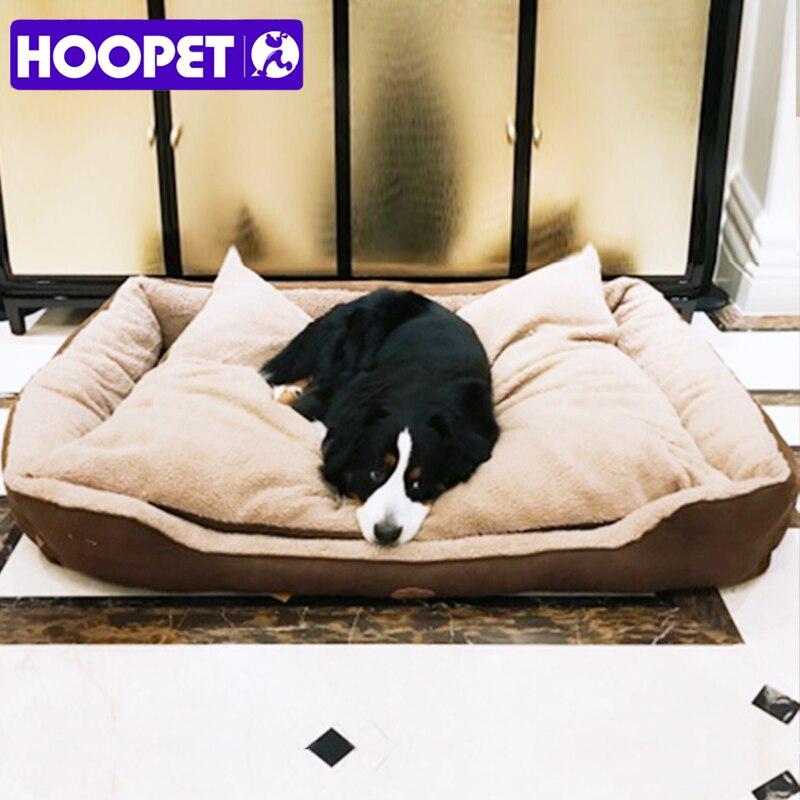 HOOPET Hot-Dog lit pour animaux de compagnie grand nid de couchage maison pour grands chiens bonne qualité Cama Para Cachorro