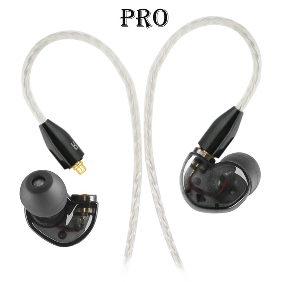 NiUB5 Pro Dynamic Driver Professional In Ear Sport Detach Earphone with 4 drivers inside Vs SE215 SE535 Separate headphones fresh upgrade edition mi piston dynamic professional in ear sport detach driver version earphone with mic for samsung for xiaomi