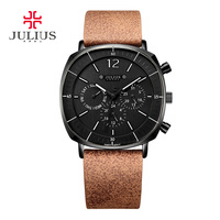 Real Functions Men S Watch Swiss Quartz Hours Clock Business Sport Dress Bracelet Leather Boy Birthday