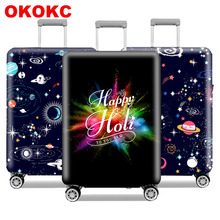 Travel Luggage Suitcase Protective Cover Stretch Dustproof Case Apply to 18-32inch Cases