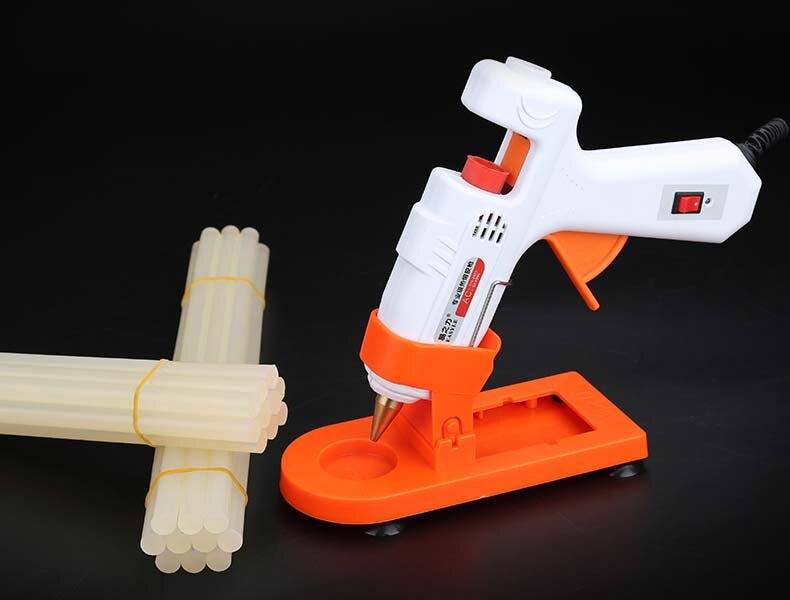 цена на Household Manual Hot Melt Glass Glue Gun Hot Sol Gun with 20pcs Hot sol bar 7-11mm