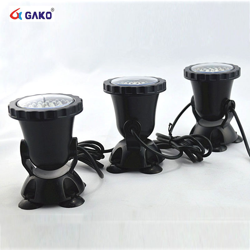 3 In 1 36 LED RGB Outdoor Submersible Underwater Lamp Spot Light For Water  Garden Fish Tank Pond Fountain Aquarium Led Lighting