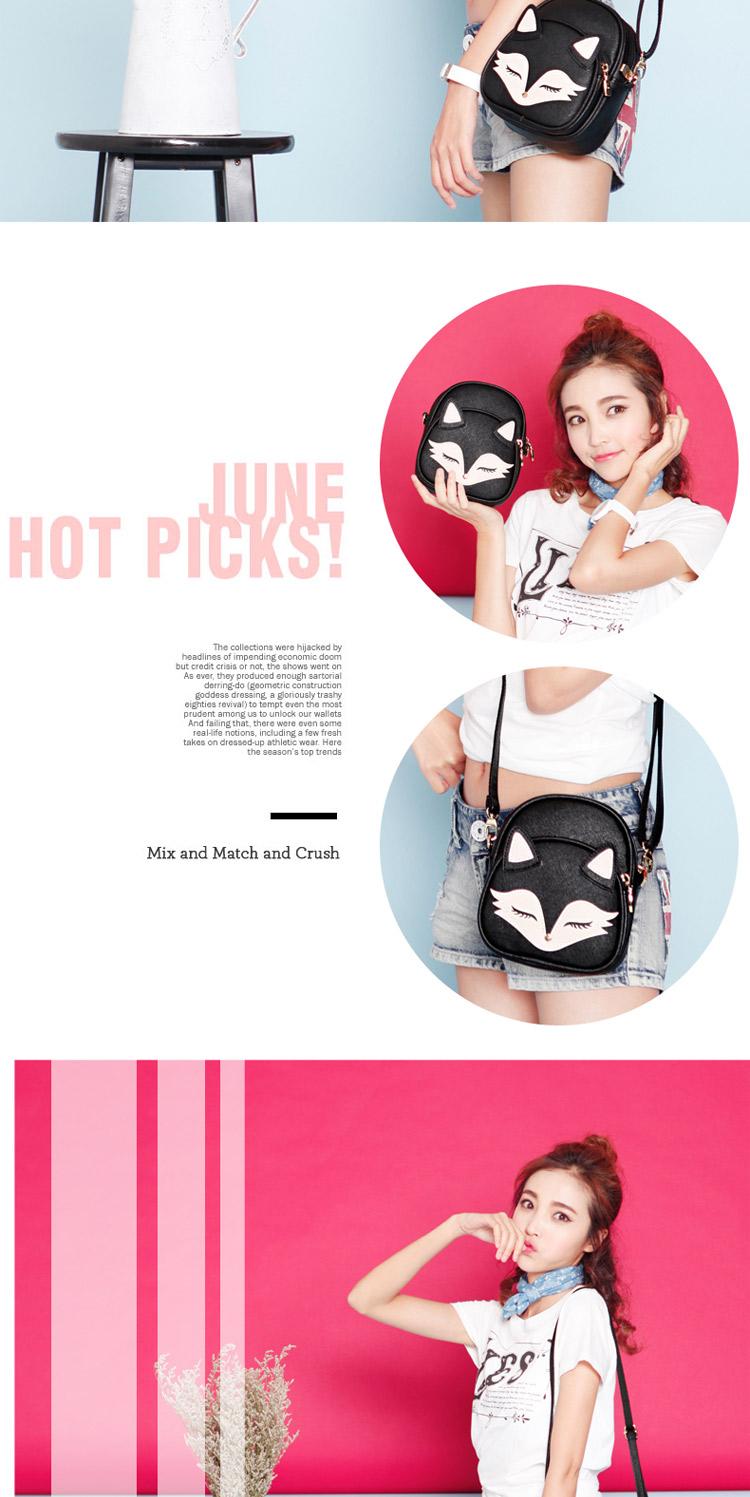 Cat Face Handbag
