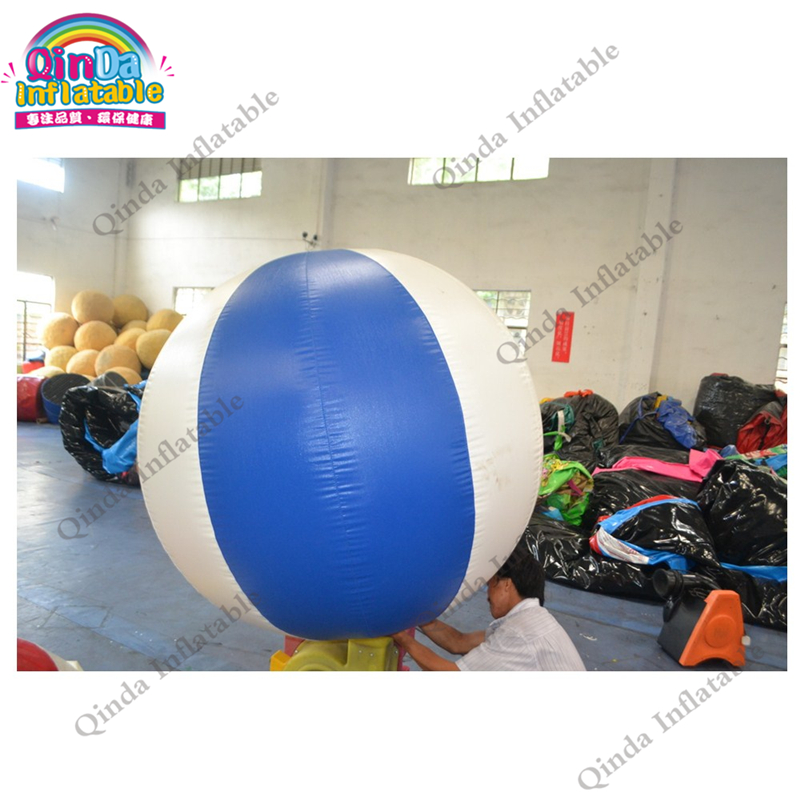 Customize 0.18mm pvc Yellow helium blimp / Inflatable helium balloon with logo for advertising ao058h 2m helium balloon ball pvc helium balioon inflatable sphere sky balloon for sale