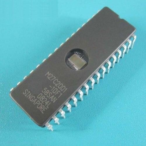 2PCS M27C801-100F1 27C801 ST IC EPROM UV 8MBIT 100NS 32CDIP NEW GOOD QUALITY