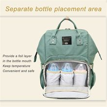 fashion Mummy bag Multi-function Large capacity Waterproof Travel Backpack Portable diaper bags Fashion Durable bottle bags Di